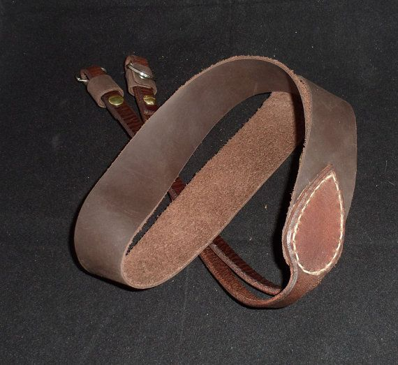 Handcrafted Leather Heavy Duty Camera Strap by hmcurriers on Etsy, $75.00
