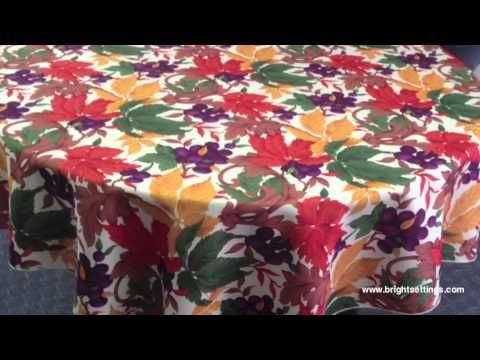 Tablecloth -  Harvest Time