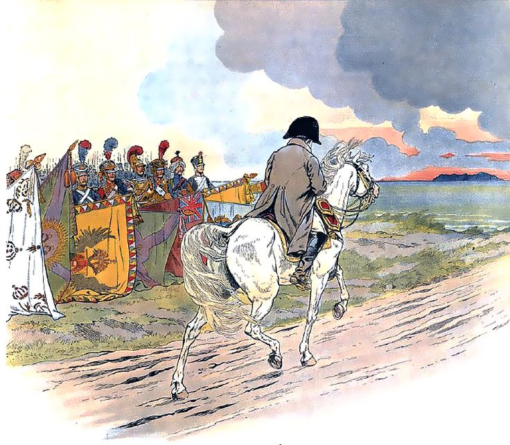 Napoleone e i trofei catturati - Jacques Onfroy de Bréville -
