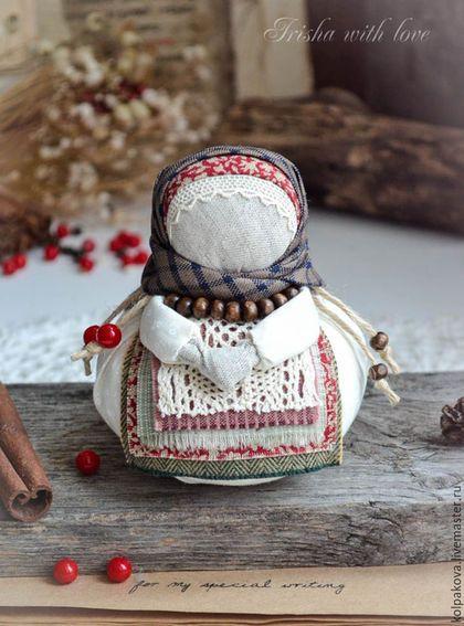 """Народные куклы ручной работы. Ярмарка Мастеров - ручная работа. Купить кукла Благополучница """" С любовью.Зима"""".. Handmade."""