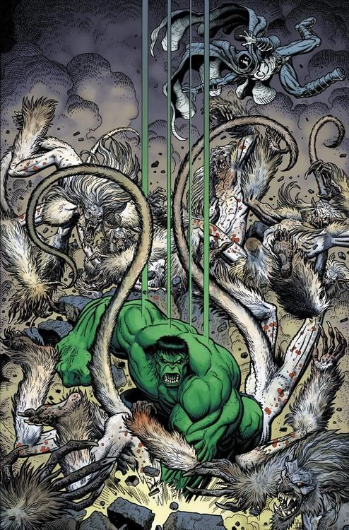 The Hulk by Arthur Adams