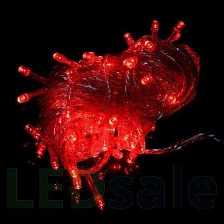 10 Meter LED Jouluvalot - Punainen