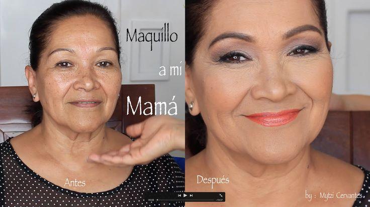 Maquillaje a Mamá /Dia de las madres 2015 por Mytzi Cervantes