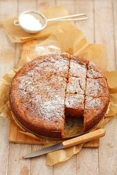 torta de zanahoria: Torta de zanahoria facil