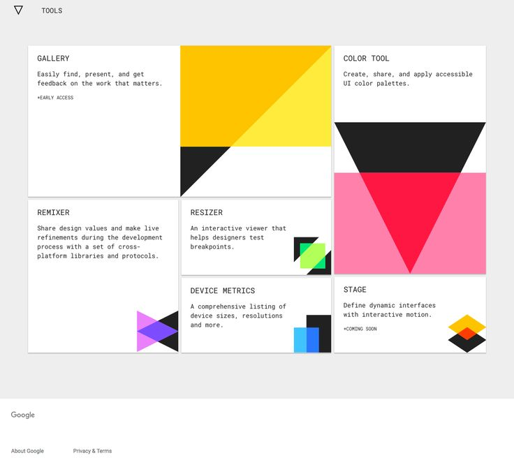 Best and Worst of Google Visual Designs — a Case Study