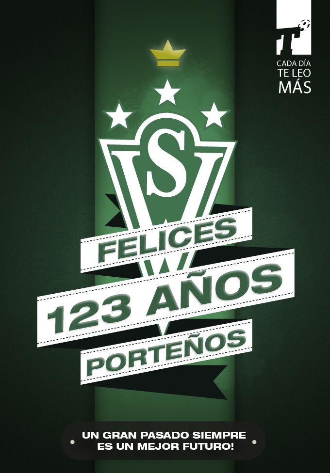 #Wanderers está de aniversario y desde Titular le mandamos un fuerte abrazo a todos los caturros!! #FelizCumpleDecano  Titular, cada día te festejo más | www.titular.cl