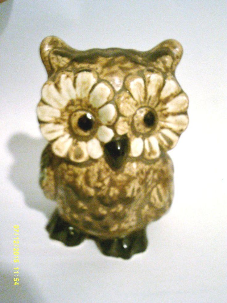 Vintage Schmid Bros. Owl Figurine