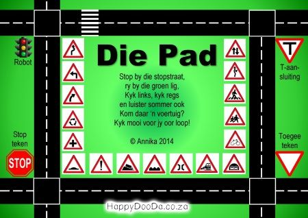 Home School: Grade R - Week 20 - Die Pad / The Road - Happy Doo-Da