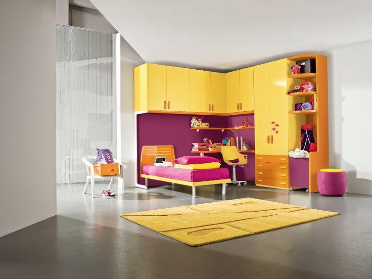 Zona notte camerette per bambini martinelli mobili for Martinelli mobili