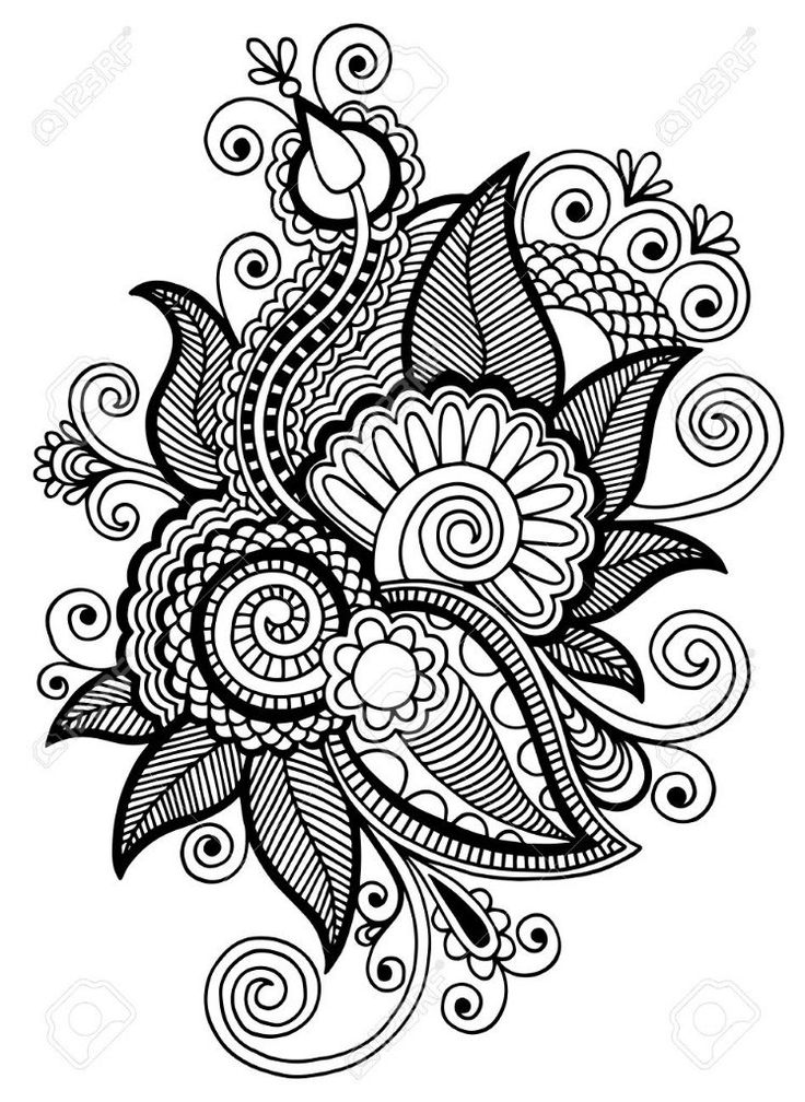 Line Art Zentangle : Images about zentangle doodle and coloring pages on
