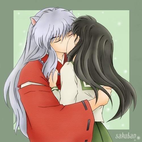 Kikyo And Kagome Lesbian Kiss Sex: 1000+ Images About Inuyasha On Pinterest