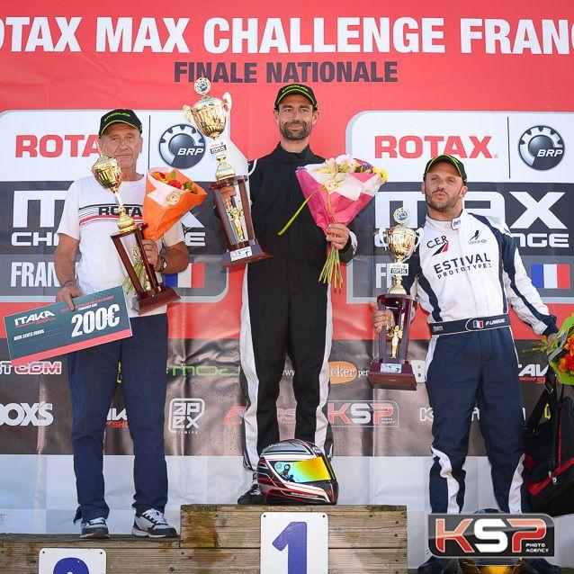 Cavalier seul victorieux de Le Moine en finale des Max Master
