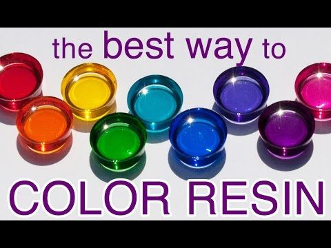 RESIN COLOR that's clean and easy - by Little Windows - YouTube; new colored resin sheets