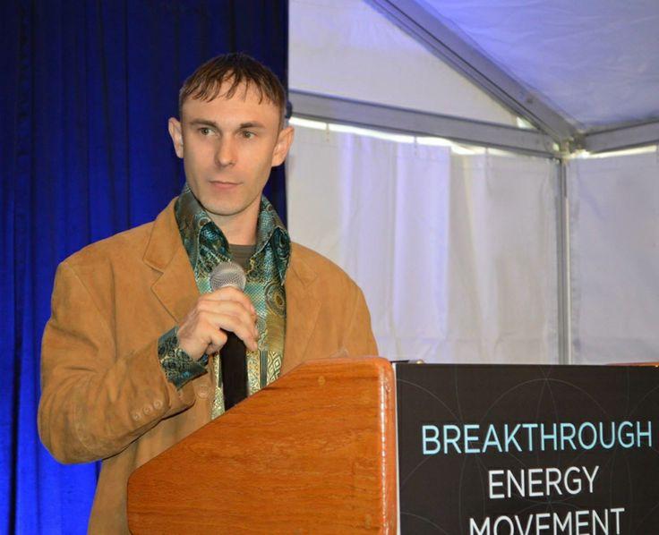 Jason Verbelli hosting the Global Breakthrough Energy Movement (BEM) Conference in Boulder, CO. October 10th. 2013