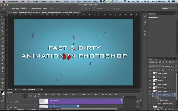 PHOTOSHOP ANIMATION TUTORIAL. Video demonstration of Animation in Photoshop  Photoshop Animation - further tutorials  Alex Grigg - https://v...