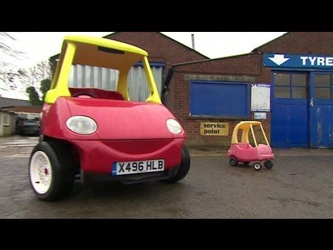Toy car that can reach 70mph (110km/h)..oh and it's roadworthy- BBC News