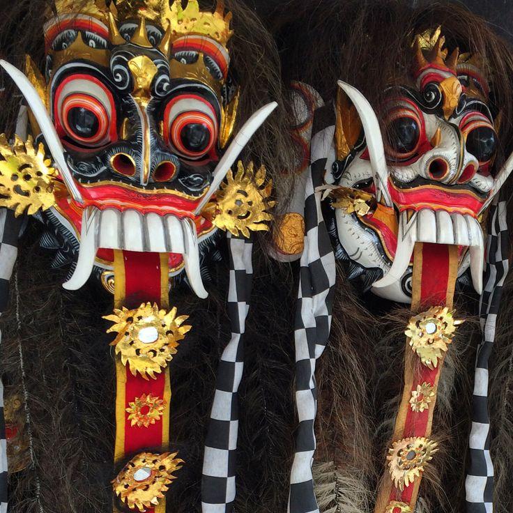 Masks, Ubud, Bali