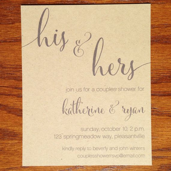 Best 20 couples shower themes ideas on pinterest couple for Wedding couples shower invitations