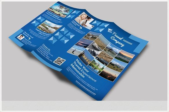 Best Travel Brochure Template Images On Pinterest Brochures - Online brochure template