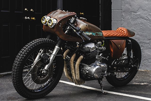 ϟ Hell Kustom ϟ: Honda CB750 1972 By Thirteen And Company
