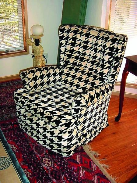 Houndstooth Recliner Houndstooth Pinterest Chairs