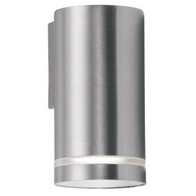 Sentry 1 Light 11W Fluorescent Down Facing Wall Bracket in Stainless Steel