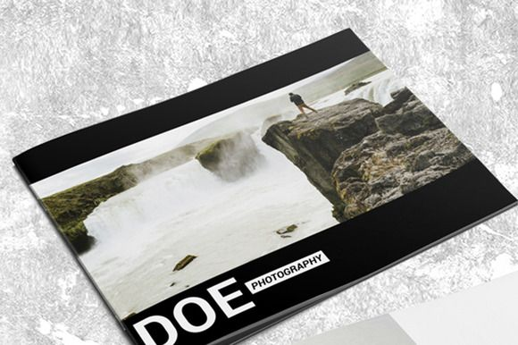 24 Pages Photography Portfolio Album by MAGOO STUDIO on Creative Market
