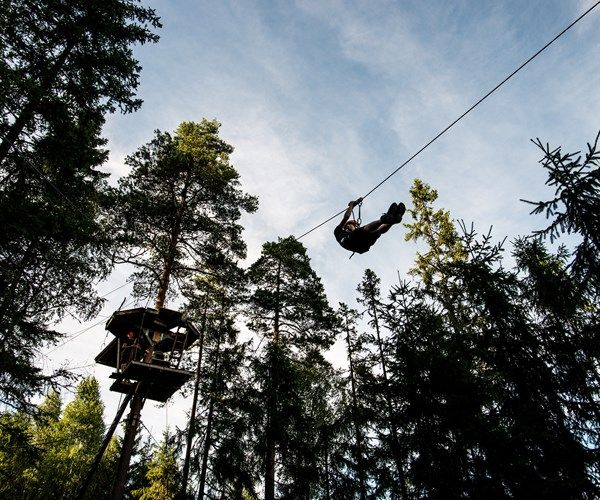 Sweden Zipline - Little Rock Lake AB