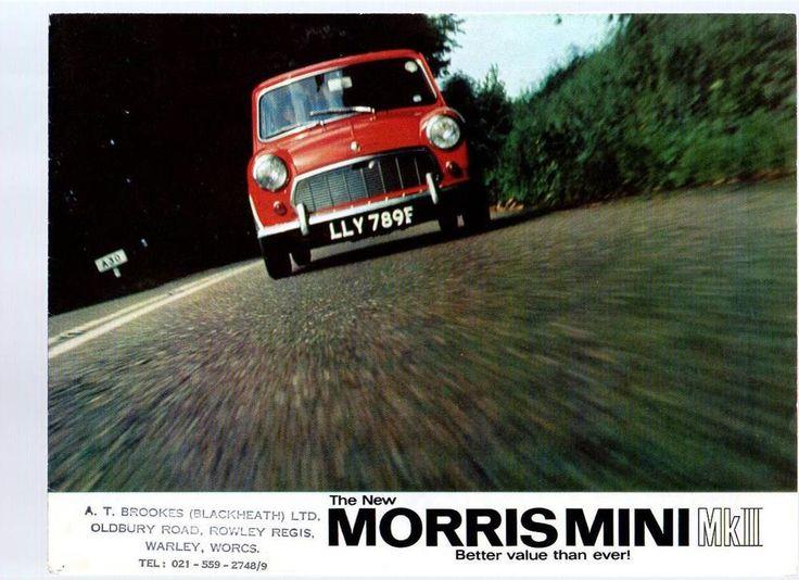 MORRIS MINI MKII BROCHURE SEPTEMBER 1967 REF 23/105 (7939) 9-67 - 150m (NO4)