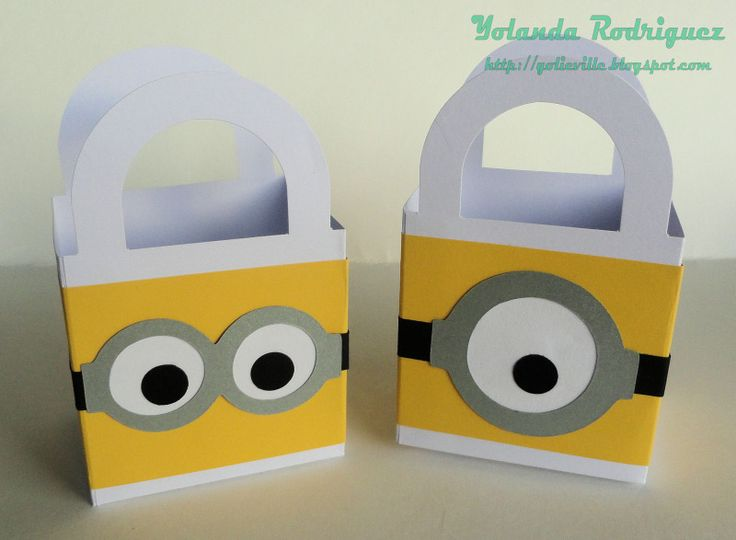 Bridal Shower Favor - Minions from Despicable Me by Inthegame - Cards and Paper Crafts at Splitcoaststampers
