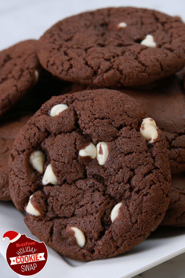 Double Fudge Irish Cream Cookies | BuzzFeed Holiday Cookie Swap