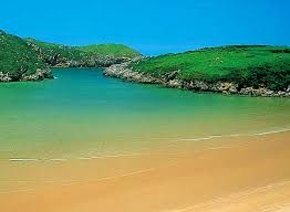 Playa de Poo en Llanes, Spain