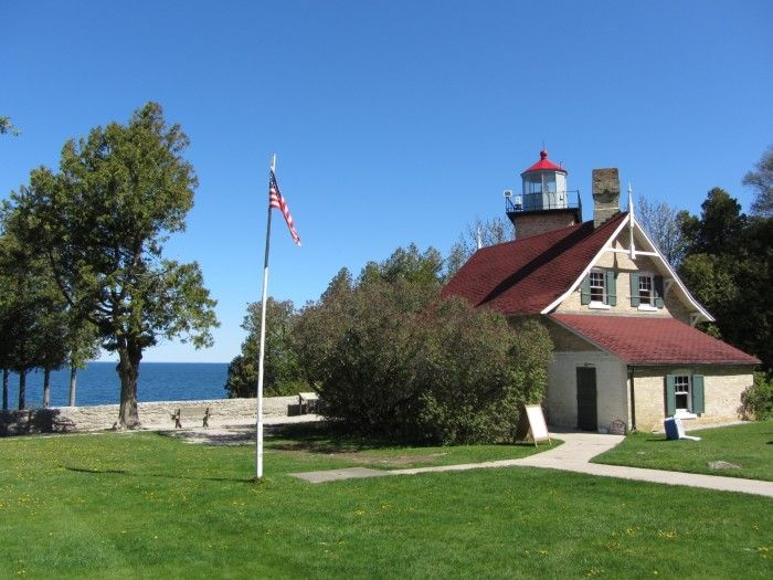 10 Trails In Wisconsin You Must Take If You Love The Outdoors | Eagle Bluff Lighthouse, Fish Creek
