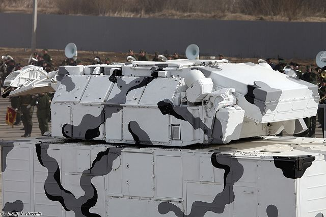 Russia has displayed versions of the KBP Instrument Design Bureau Pantsyr-S1 and Almaz-Antey Tor-M2 air defence systems integrated onto Vityaz DT-30-series all-terrain tracked carriers (ATTCs) opti…