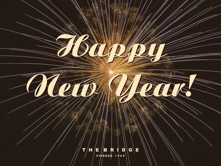 The Bridge wishes you a Happy New Year!