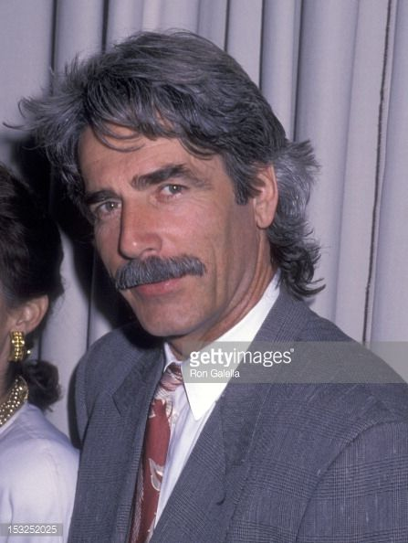 Actor Sam Elliott attends the Hollywood Women's Press Club's 48th Annual Golden Apple Awards on December 11 1988 at Beverly Wilshire Hotel in Beverly...