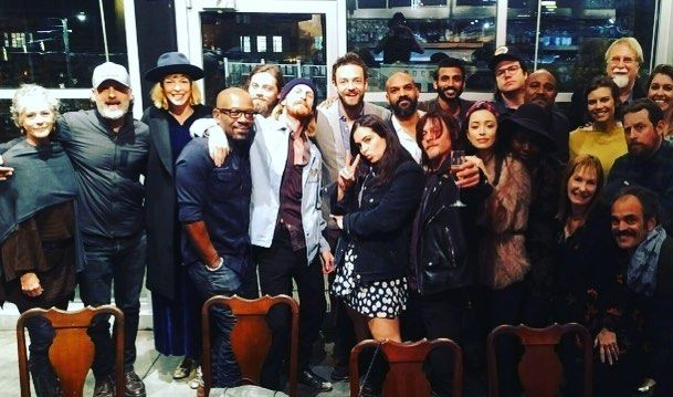 About last night  The Walking dead family