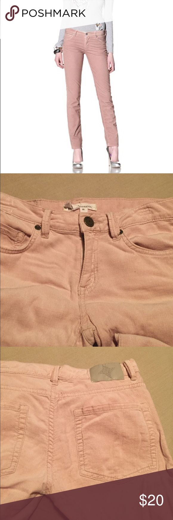Jessica Simpson Ballet Slippers corduroy pants Soft pink skinny corduroy pants Jessica Simpson Pants Skinny