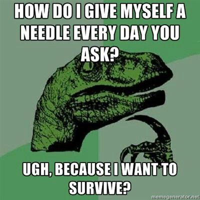 The things people say to you about diabetes, LOL...yep, gotta love those stares. #diabetes #type1 #type2