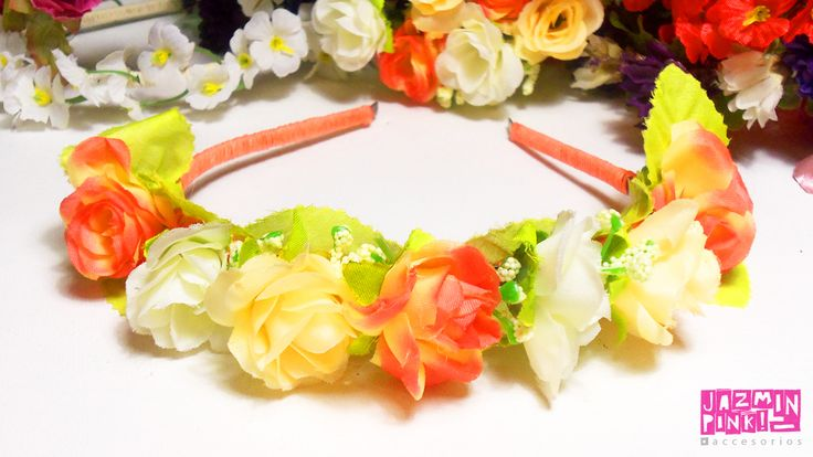 #spring #flowers #crowns #flores #flower #summer #headband #crown #flowercrown #vincha #corona #fashion #accessories #mode #look