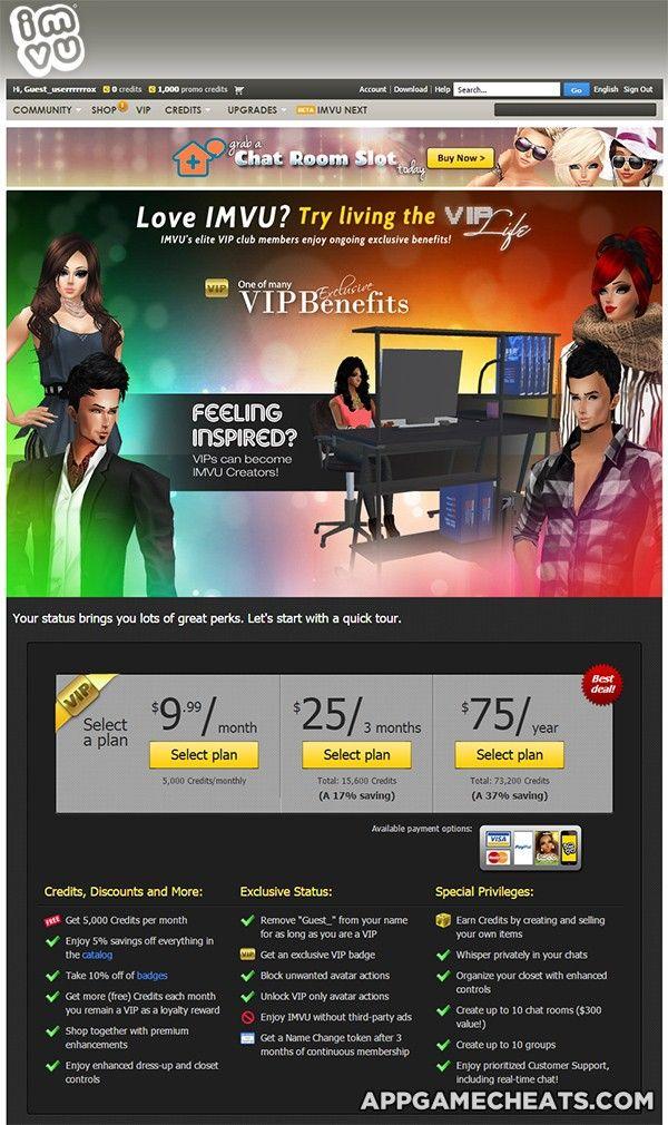Imvu Credits Hack 2012 - xiluscz