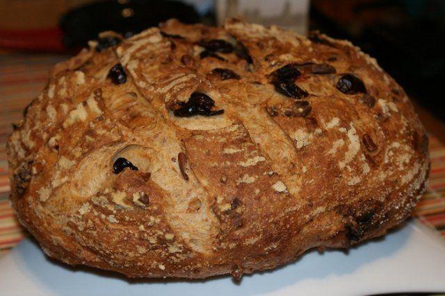 Клюквенно-ореховый хлеб