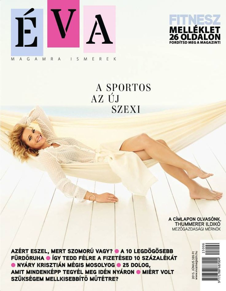 Éva 2015. június címlap // Éva Cover June 2015