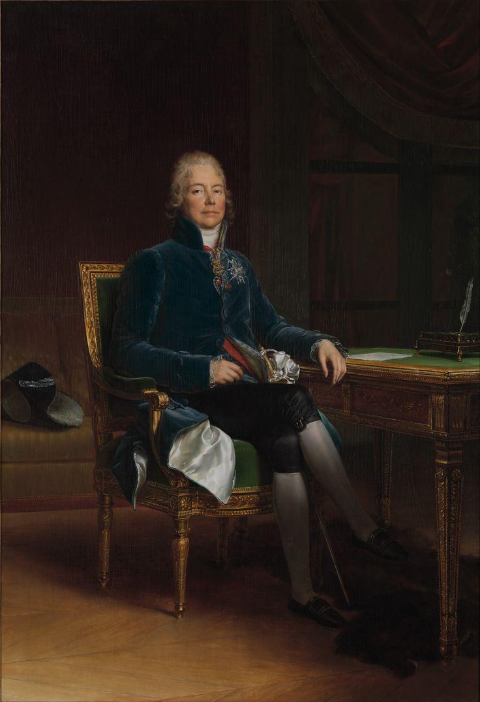 Charles Maurice de Talleyrand Périgord (1754–1838), Prince de Bénévent. Artist: baron François Gérard (French, Rome 1770–1837 Paris) Date: 1808