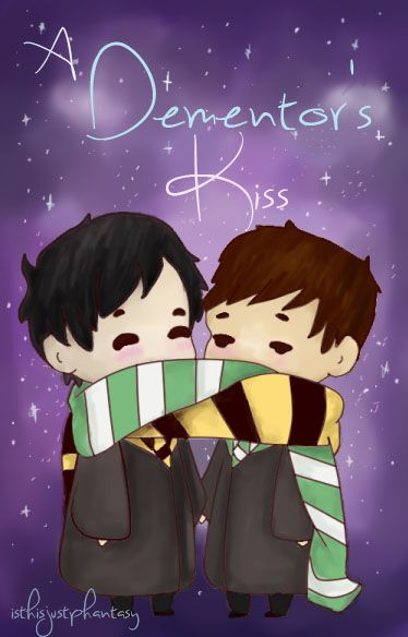 Go now and read this even though it's long it's worth it I love this fanfic even though I don't ship Phan but this is good ( https://m.fanfiction.net/s/10148279/1/A-Dementor-s-Kiss-Phan-etc )
