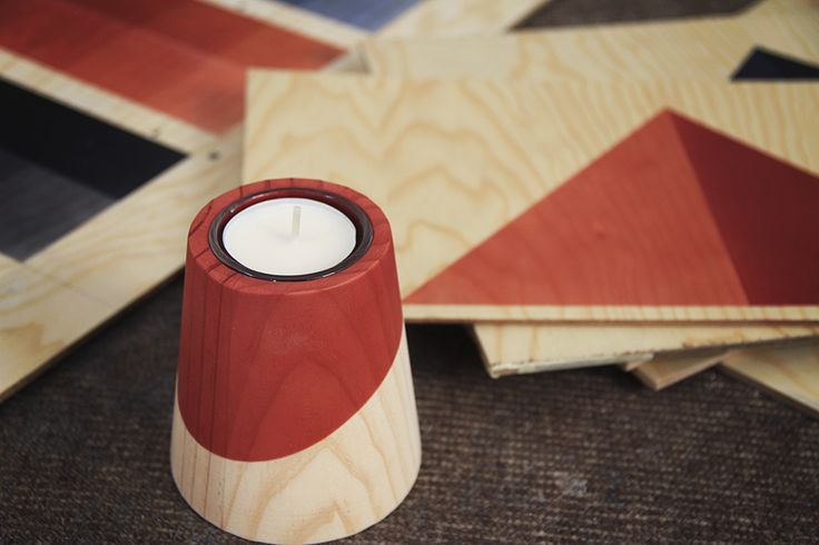 Etna Mini Candleholder by WOODENDOT on Haystakt.com