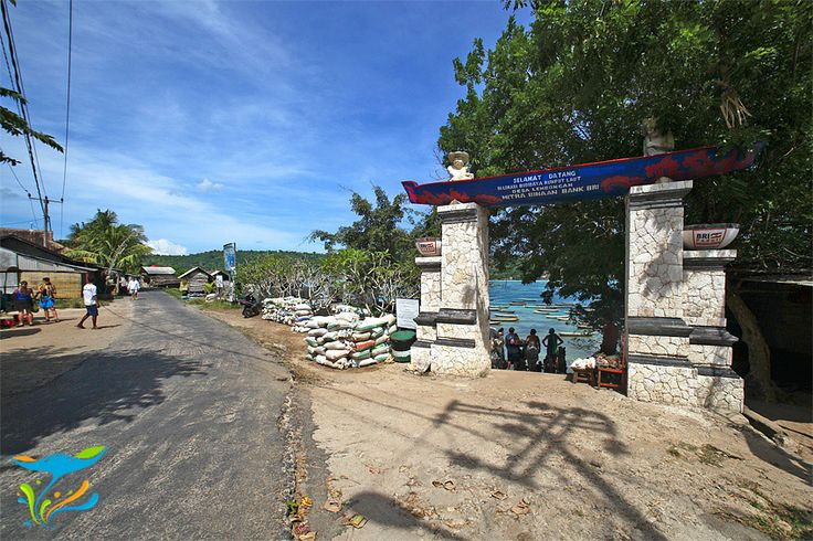 Kawasan desa petani rumput laut yang kemudian menjadi salah satu obyek wisata yang cukup banyak menarik wisatawan.