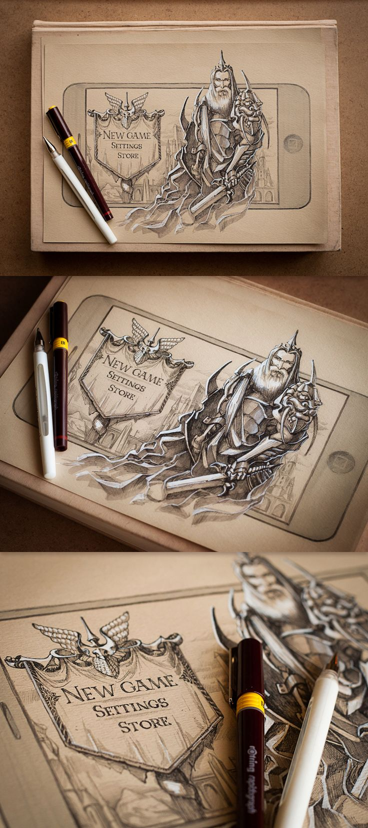 Incredible and Exciting Artwork from Creative Mints (+ Process Shots)