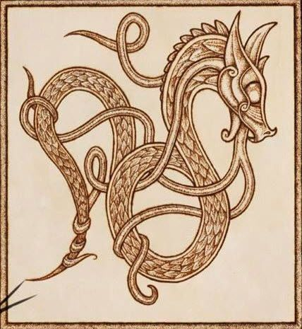 Celtic Dragon Knot                                                                                                                                                                                 More