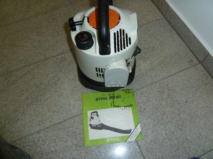 Gebraucht aus privatem Haushalt, Gebrauchsspuren aber wenig genutzt Beim Abholung kann man...,Stihl BG 61 AV Benzin Blasgerät in Hessen - Bad Soden am Taunus